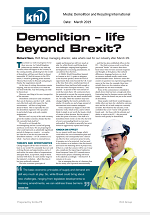 Demolition And Recycling International Magazine - Life Beyond Brexit